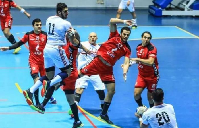 الأهلي 0-0 الزمالك في قمة كرة اليد