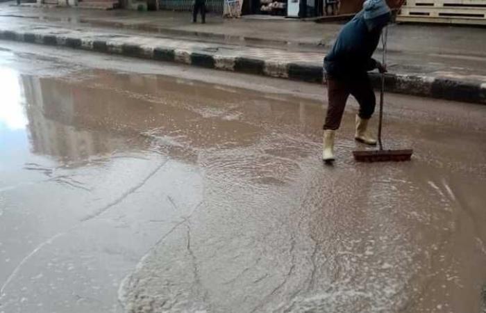 المصري اليوم - اخبار مصر- رئيس مدينة الرياض يتابع كسح مياه الأمطار موجز نيوز