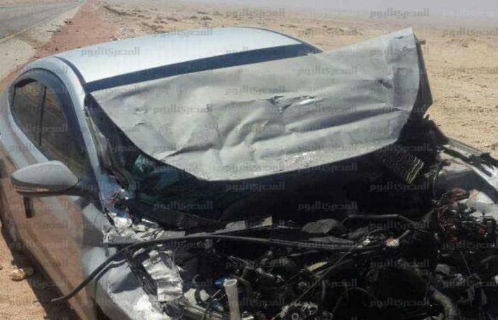 #المصري اليوم -#حوادث - إصابة 6 أشخاص في انقلاب سيارة بالطريق الصحراوي ببني سويف موجز نيوز