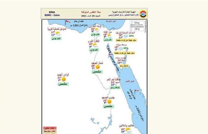 المصري اليوم - اخبار مصر- الأرصاد تعلن حالة الطقس غدًا وتحذر من شدة البرودة رغم التحسن موجز نيوز