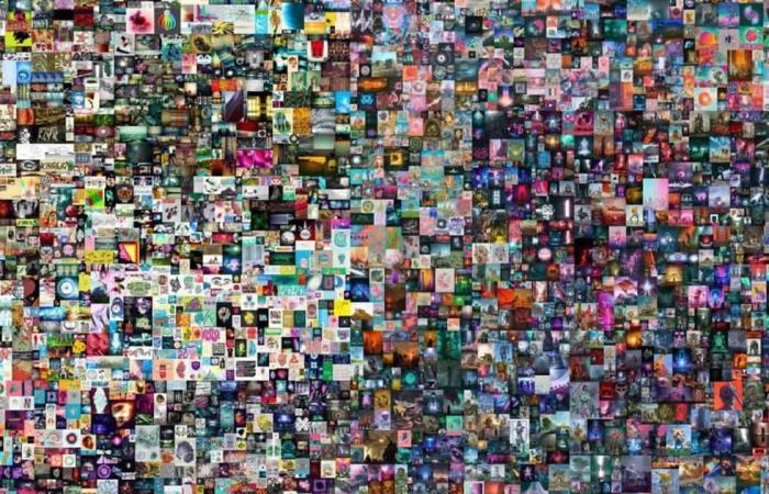 المصري اليوم - تكنولوجيا - بيع أول عمل فني رقمي في تاريخ المزادات بتقنية «الكولاج».. مكون من 5 آلاف صورة موجز نيوز