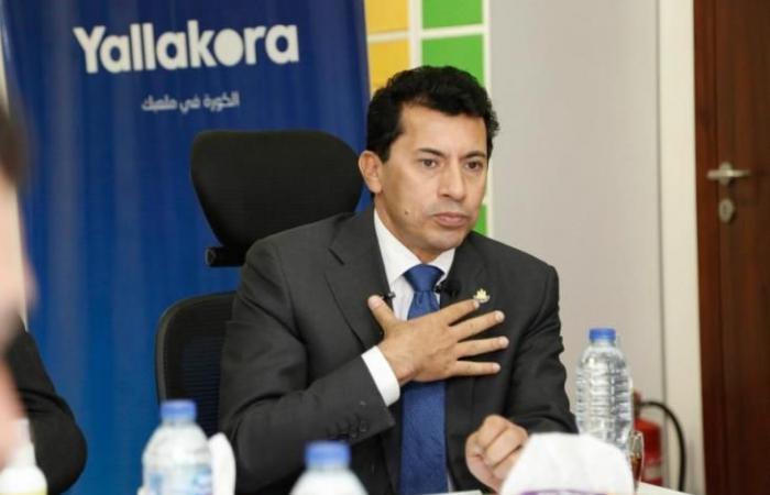 وزير الرياضة: نتواصل مع وزارتي الطيران والخارجية لحل أزمة الزمالك