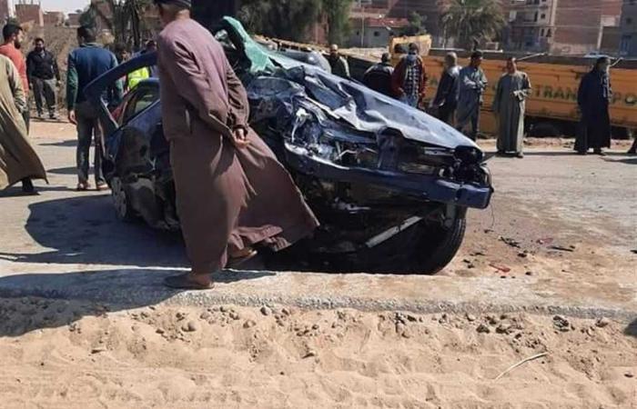 #المصري اليوم -#حوادث - إصابة 8 مواطنين في حادثي سير أحدهما بسبب قيادة «حدث» لسيارة ملاكي موجز نيوز