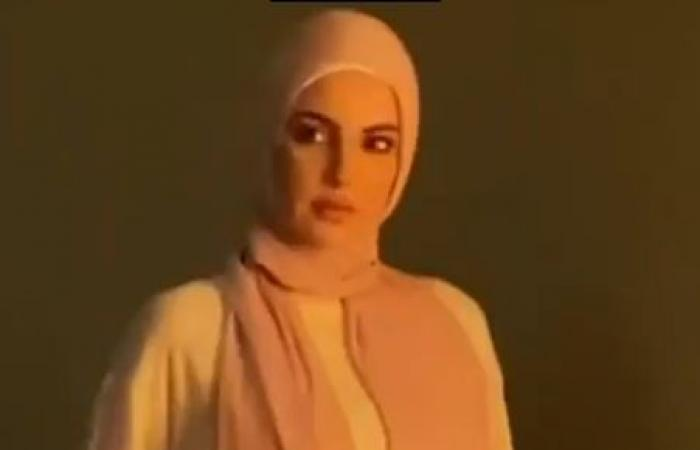 """#اليوم السابع - #فن - درة بالحجاب في كواليس تصوير بوستر مسلسل """"بين السما والأرض"""".. صور"""