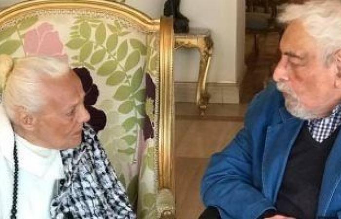#اليوم السابع - #فن - جميل راتب مع المخرجة علوية زكى قبل وفاتهما بأشهر قليلة
