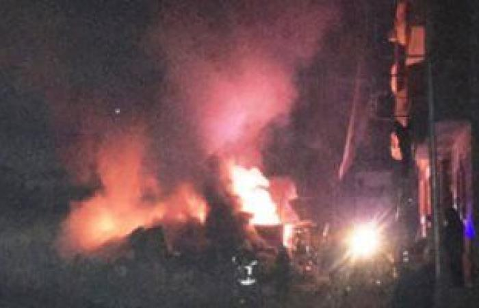 #اليوم السابع - #حوادث - السيطرة على حريق نشب فى قاطرة قصب بقنا