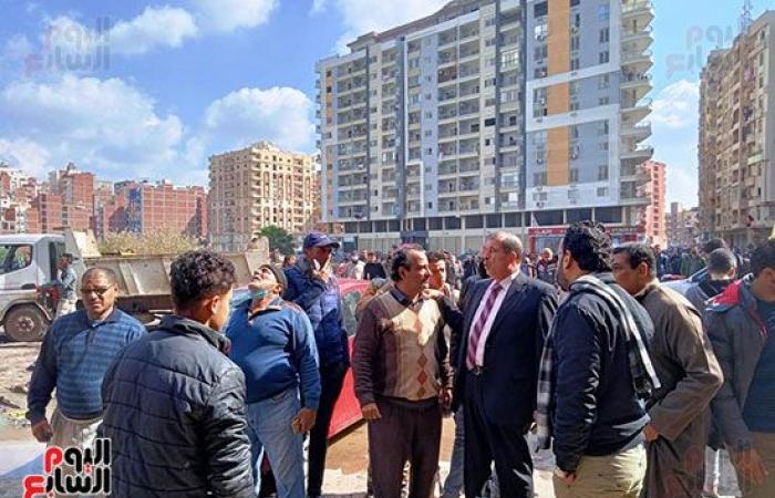 #اليوم السابع - #حوادث - اندلاع حريق فى شقة سكنية بكفر الشيخ وإصابة 4 أشخاص.. صور
