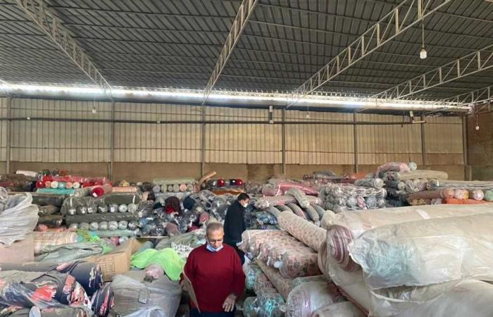 #المصري اليوم - مال - ضبط كمية من الأقمشة الأجنبية الصنع غير خالصة الضرائب والرسوم موجز نيوز