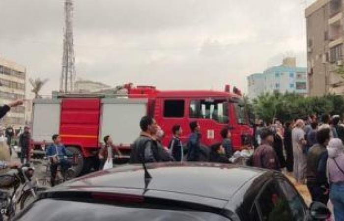 #اليوم السابع - #حوادث - السيطرة على حريق بمحل تجاري دون إصابات في إمبابة