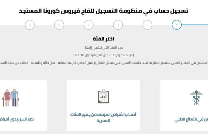 المصري اليوم - اخبار مصر- بداية من اليوم.. لقاح كورونا متاح للطلب والمتابعة لهذه الفئات (التفاصيل والشروط) موجز نيوز