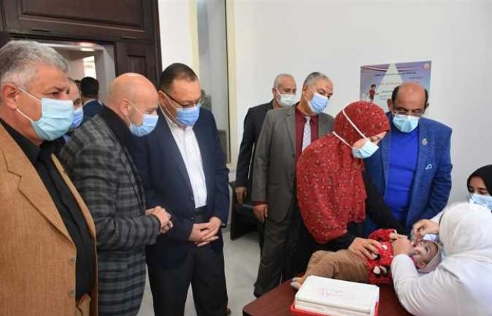 المصري اليوم - اخبار مصر- انطلاق الحملة القومية للتطعيم ضد شلل الأطفال في الشرقية موجز نيوز