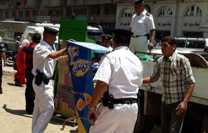 #المصري اليوم -#حوادث - «المرافق» تضبط 216 مخالفة في الجيزة موجز نيوز