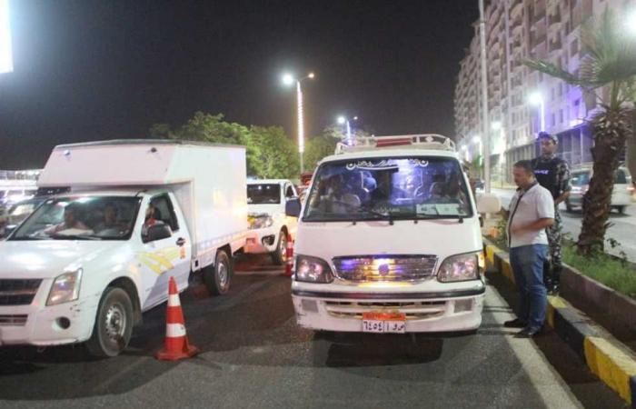 المصري اليوم - اخبار مصر- ضبط 526 مخالفة مرورية و 3 سائقين لتعاطيهم المواد المخدرة في أسوان موجز نيوز