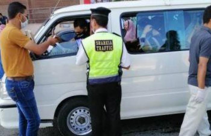 #اليوم السابع - #حوادث - تحرير 526 مخالفة مرورية وضبط 3 يتعاطون المخدرات أثناء القيادة بأسوان