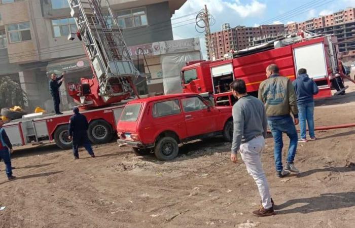 #المصري اليوم -#حوادث - حريق خلف فرع هيئة البريد في مدينة المنيا.. والحماية المدنية تسيطر موجز نيوز