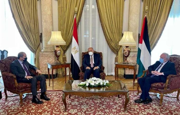 #المصري اليوم -#اخبار العالم - مصر والأردن وفلسطين تؤكد ضرورة وقف الاستيطان واستمرار جهود تحريك عملية السلام موجز نيوز
