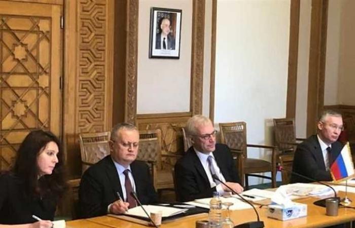 المصري اليوم - اخبار مصر- مصر وروسيا يتشاوران حول غاز المتوسط وقناة السويس والقضايا الأوربية (صور) موجز نيوز