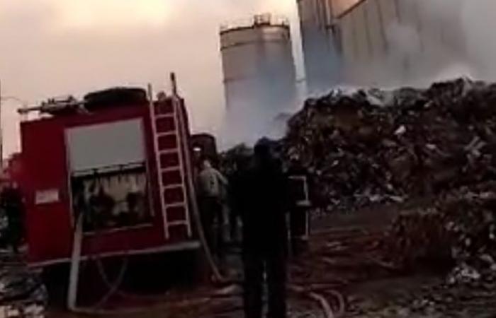 #اليوم السابع - #حوادث - الحماية المدنية تنجح فى السيطرة على حريق مصنع كرتون العاشر من رمضان