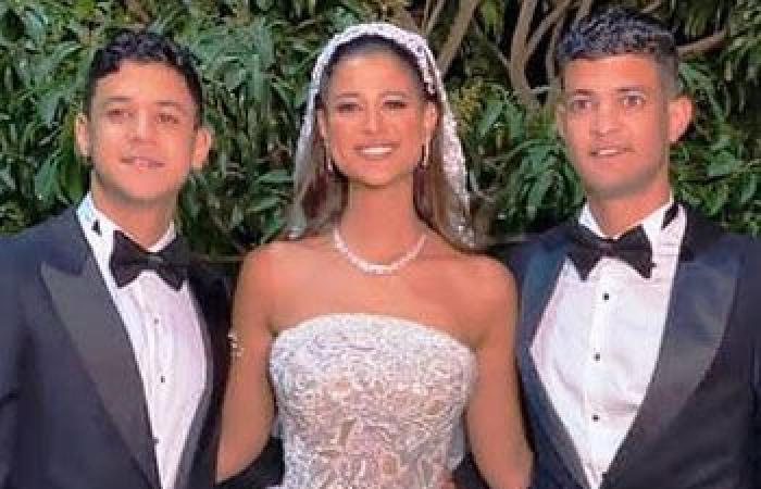 #اليوم السابع - #فن - أول صور وفيديوهات من حفل زفاف دينا شقيقة الفنان أحمد داش