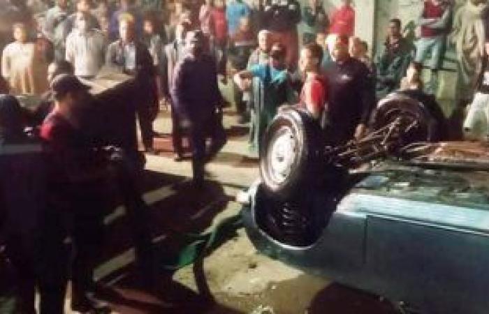 #اليوم السابع - #حوادث - نيابة أسيوط تعاين موقع سقوط سيارة ركاب بنهر النيل