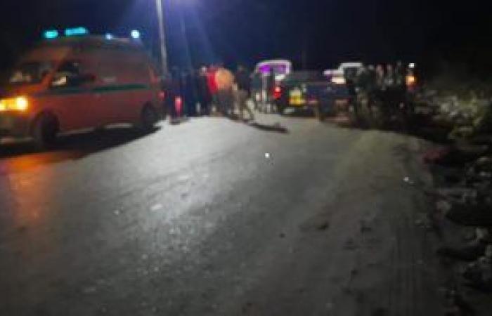 #اليوم السابع - #حوادث - مصرع شاب وإصابة 3 آخرين فى حادث تصادم على الطريق الزراعى الغربى بسوهاج