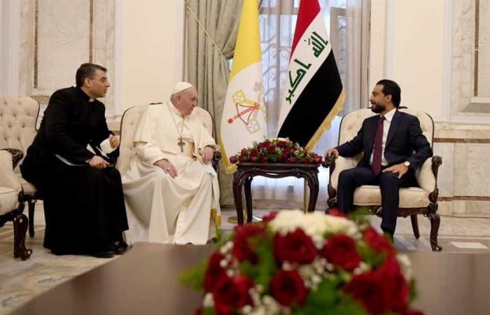 #المصري اليوم -#اخبار العالم - رئيس مجلس النواب العراقي يستقبل بابا الفاتيكان موجز نيوز