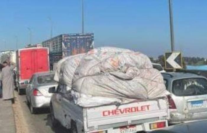 #اليوم السابع - #حوادث - إصابة 3 أشخاص في تصادم نقل مع سيارتين ملاكي على طريق المنصورة أجا بالدقهلية