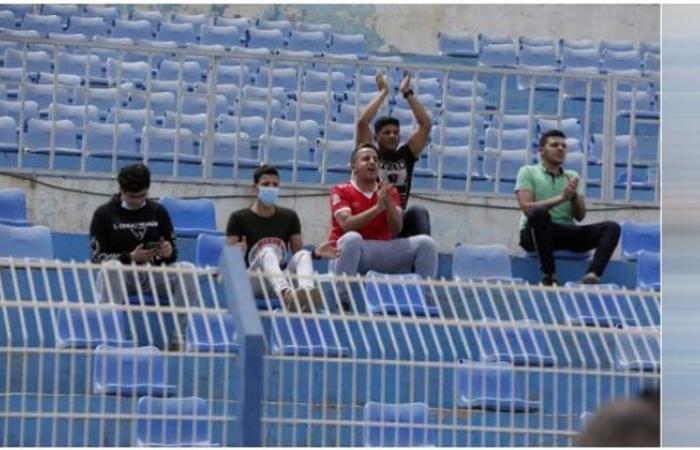 الوفد رياضة - جماهير الأهلي تؤازر الفريق في ملعب الجوهرة الزرقاء بالسودان موجز نيوز