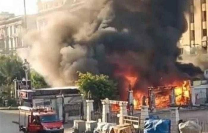 #المصري اليوم -#حوادث - إخماد حريق وحدة سكنية بجوار نقطة إطفاء الفولي في مدينة المنيا موجز نيوز