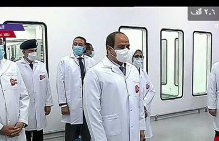 المصري اليوم - اخبار مصر- السيسي: امتلاك القدرة على تصنيع الدواء أهم من الربح المادي موجز نيوز