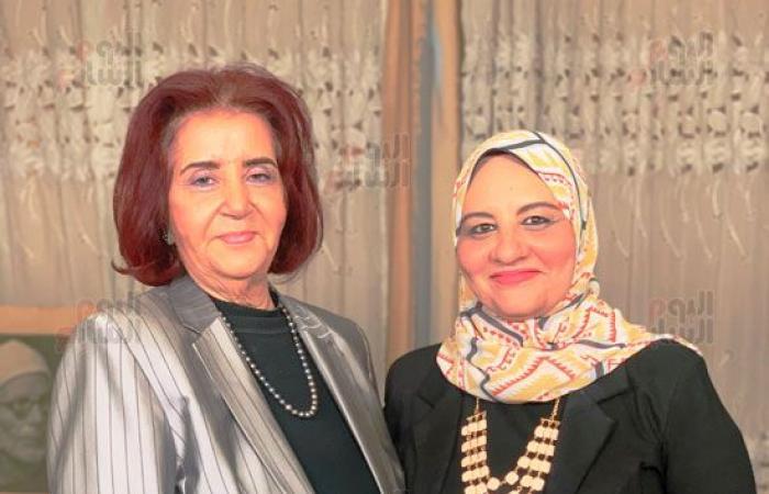 """#اليوم السابع - #فن - زاره مع نورا فى رمضان.. ابنة الشيخ الباقورى تكشف وصيته لنور الشريف """" فيديو """""""