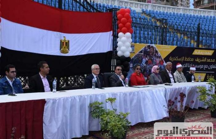 المصري اليوم - اخبار مصر- «الشريف»يُكرّم 250 يتيماً ضمن «الإسكندرية بيتك» (صور) موجز نيوز