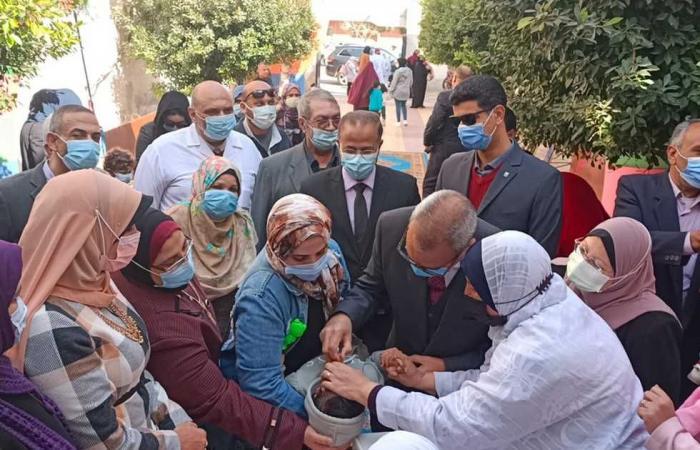 المصري اليوم - اخبار مصر- تطعيم مليون و99 ألف طفل بالحملة القومية للتطعيم ضد شلل الأطفال بالقليوبية موجز نيوز