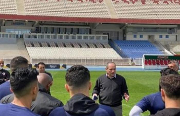 الوفد رياضة - نائب رئيس الزمالك يؤازر اللاعبين في المران موجز نيوز