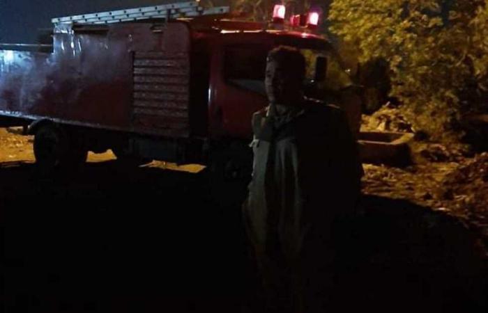 #المصري اليوم -#حوادث - السيطرة على حريق خلف المحطة الوسيطة بطوخ موجز نيوز