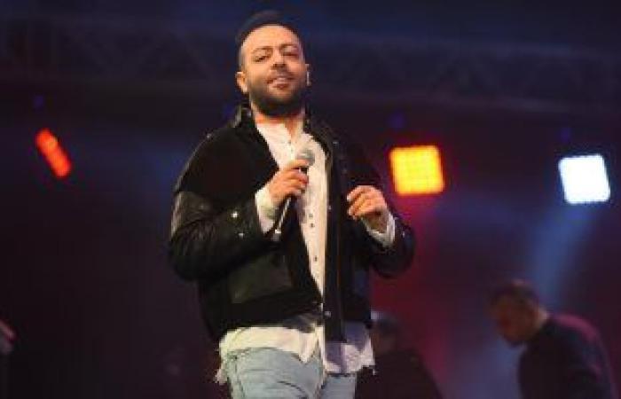 #اليوم السابع - #فن - تامر عاشور يتألق بأغنياته فى حفل بالتجمع الخامس.. صور