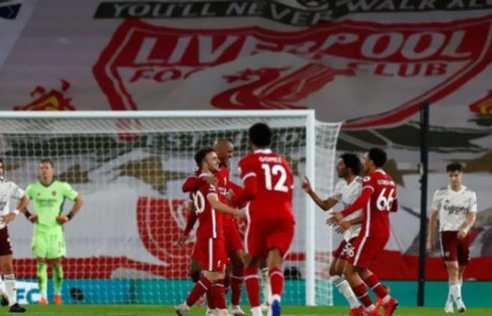 الوفد رياضة - ليفربول يضرب أرسنال بثلاثية نظيفة في الدوري الإنجليزي موجز نيوز