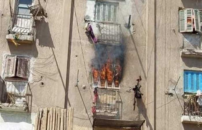 #المصري اليوم -#حوادث - السيطرة على حريق بشقة في مساكن السجن غرب الإسكندرية (صور) موجز نيوز