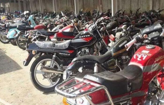 الوفد -الحوادث - ضبط 276 دراجة نارية مُخالفة في 24 ساعة موجز نيوز