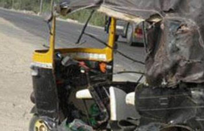 #اليوم السابع - #حوادث - مصرع طفلة وإصابة أشقائها فى حادث سقوط توك توك ببيارة صرف صحي في العياط