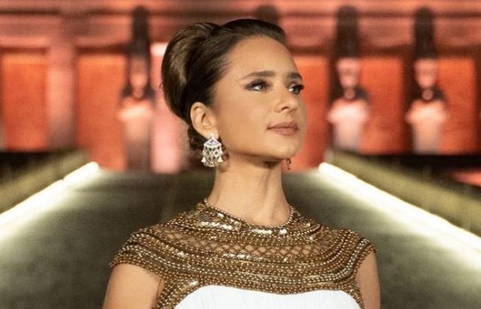 #اليوم السابع - #فن - نيللي كريم بعد مشاركتها فى موكب المومياوت الملكية: مصرية وأفتخر.. صور
