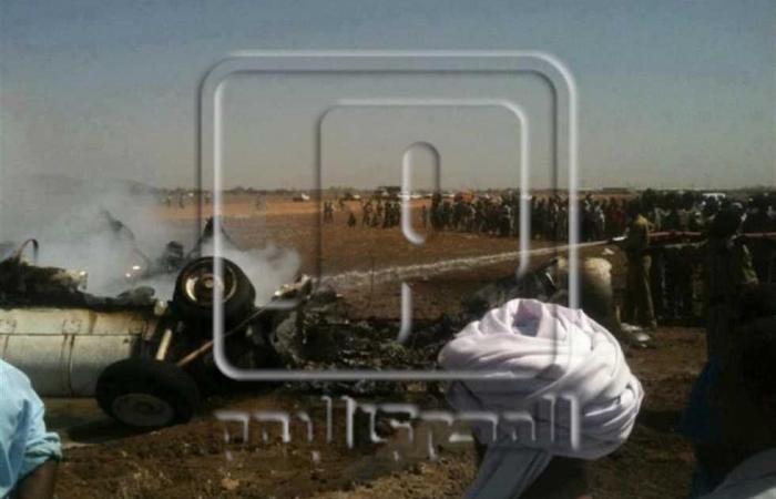 #المصري اليوم -#اخبار العالم - تحطم طائرة عسكرية تابعة للجيش السوداني موجز نيوز