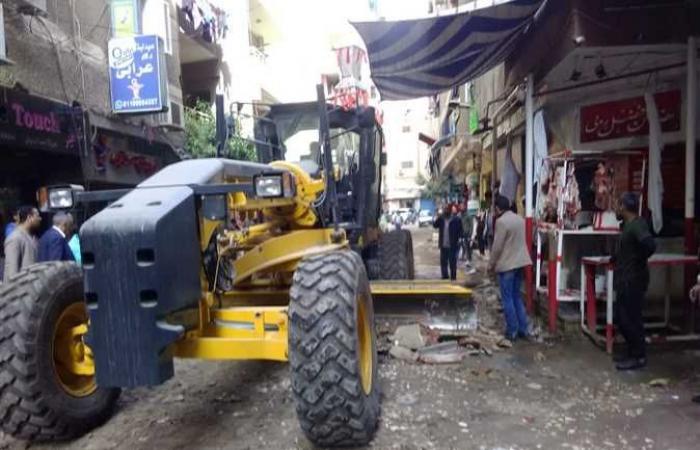 المصري اليوم - اخبار مصر- حملات تجريد لرفع كفاءة الشوارع في بولاق الدكرور موجز نيوز