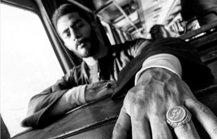 """#اليوم السابع - #فن - محمد رمضان فى صورة جديدة من كواليس """"موسى"""" بخاتم يحمل اسم المسلسل"""