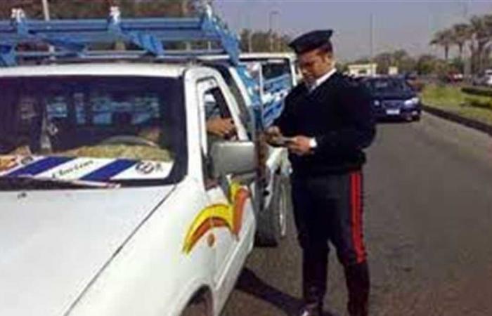 #المصري اليوم -#حوادث - ضبط 578 مخالفة مرورية في سوهاج موجز نيوز