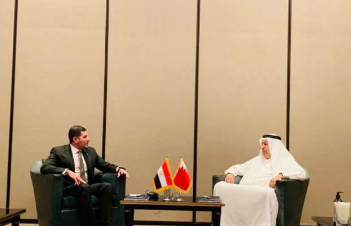 اخبار السياسه رئيس هيئة الاستثمار يلتقي رجال أعمال من البحرين لبحث تنفيذ مشروعات في مصر