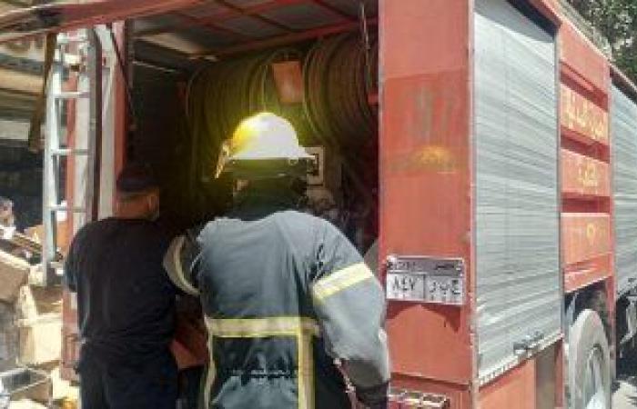 #اليوم السابع - #حوادث - السيطرة على حريق محدود بعقار بمساكن صلاح سالم دون اصابات