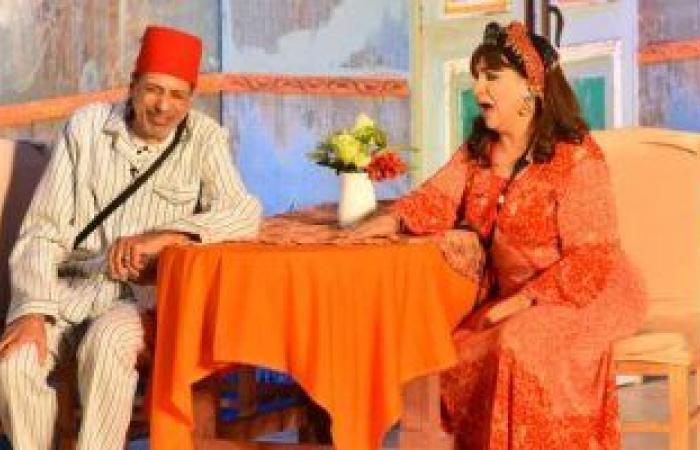 """#اليوم السابع - #فن - انتهاء عرض مسرحية """"عيلة الفقري"""" لفاطمة الكاشف الخميس والجمعة المقبلين"""