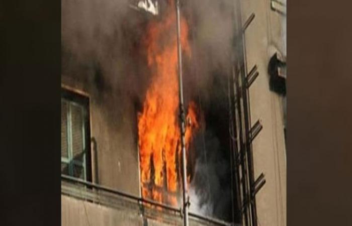 الوفد -الحوادث - السيطرة على حريق شقة سكنية في الحوامدية موجز نيوز