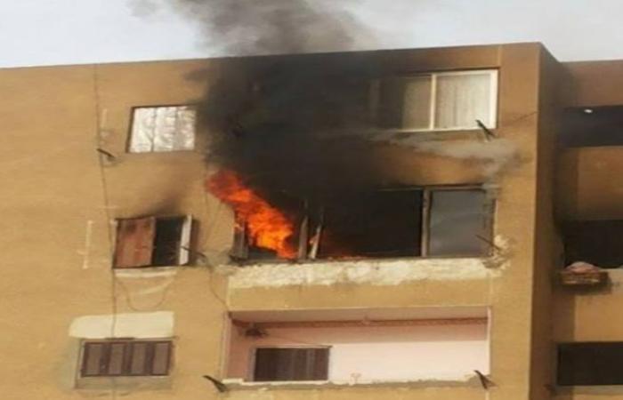 الوفد -الحوادث - اندلاع حريق داخل شقة سكنية بالساحل موجز نيوز